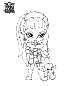abbey bominable nena de monster high