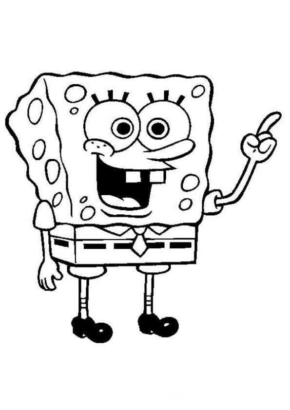 el protagonista bob esponja