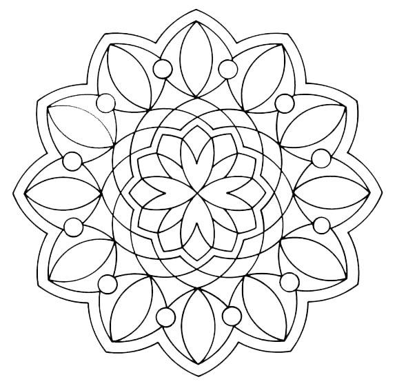 mandala romboide