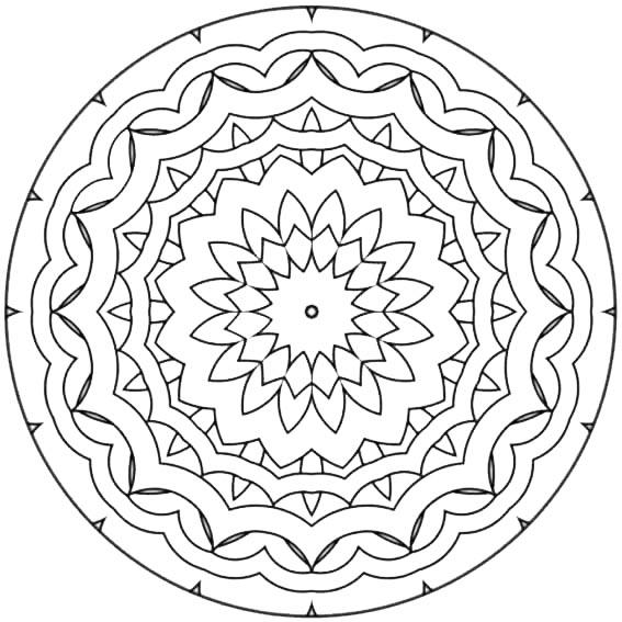 mandala roseton