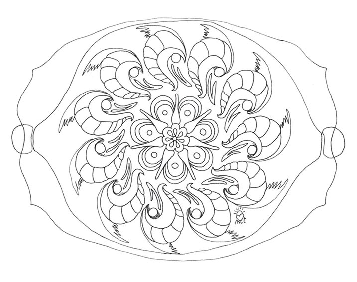 mandala rectangular