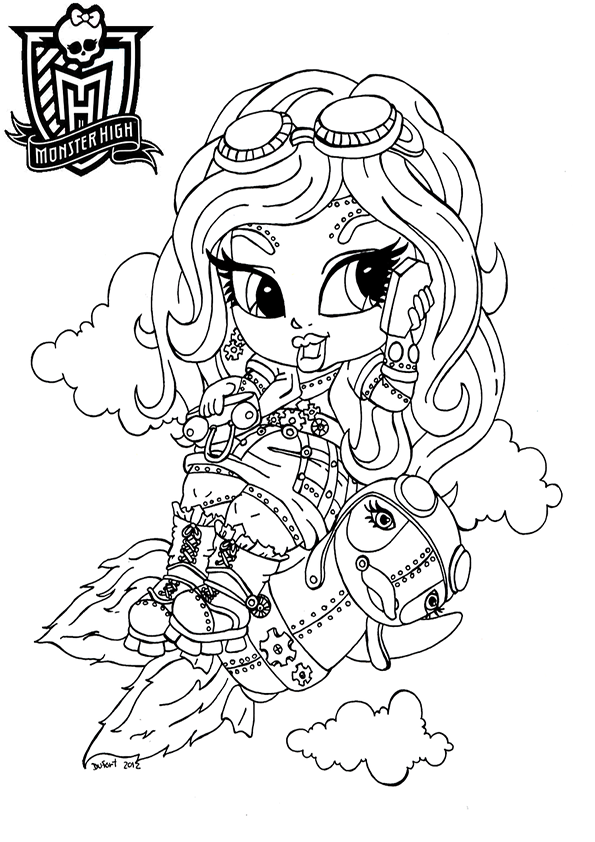 rebeca steam de monster high baby