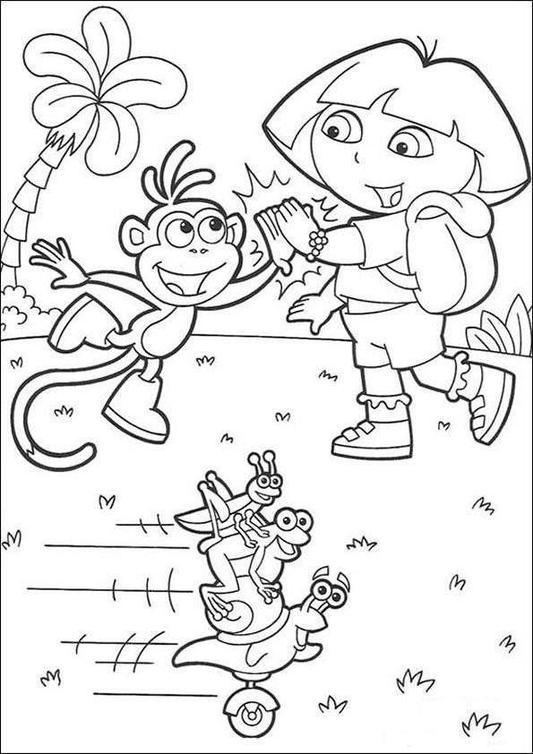 Dora, Botas y Fiestatrio