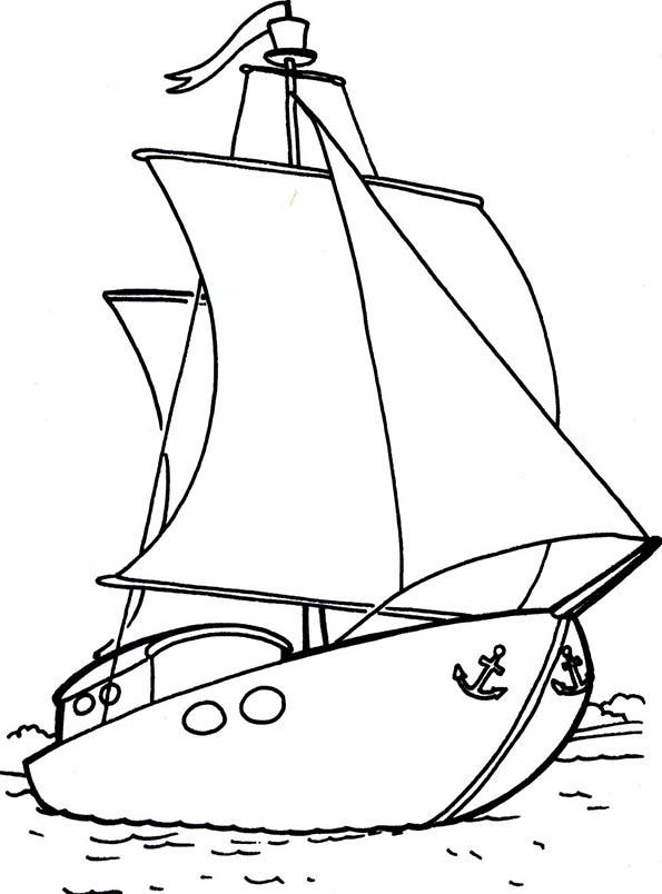 barco pesquero velero