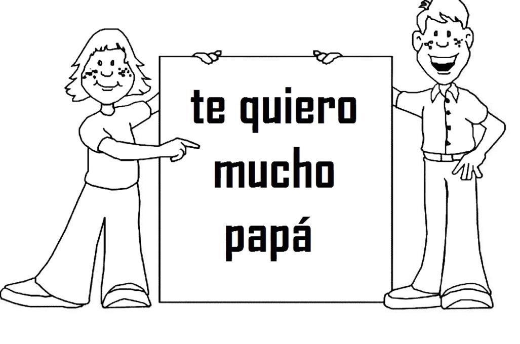 cartel para papa en su dia