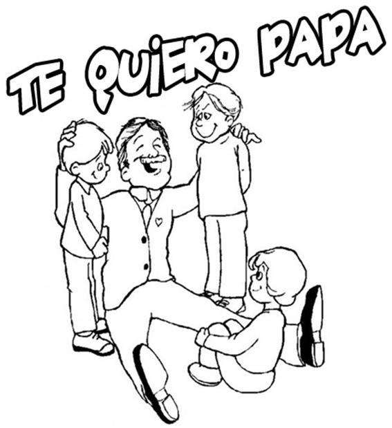 dibujo para el dia del padre