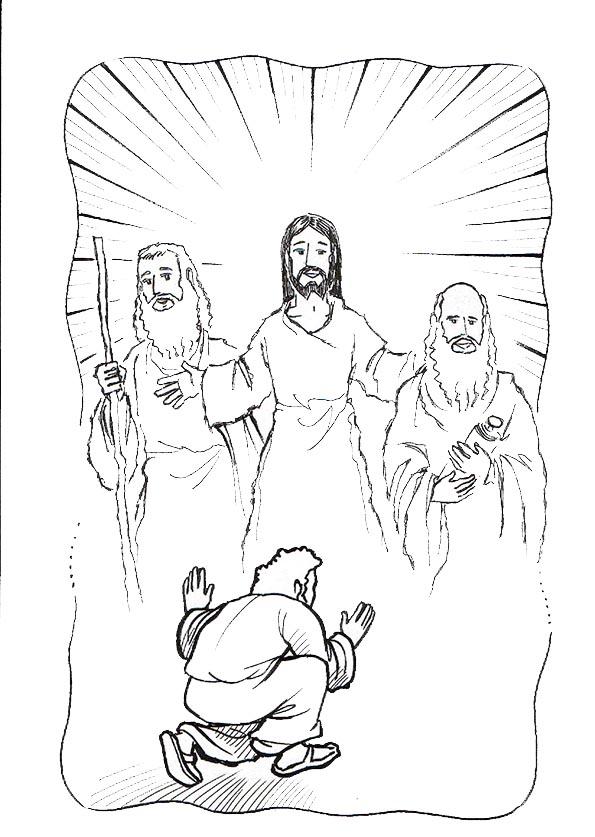 jesus y la transfiguracion