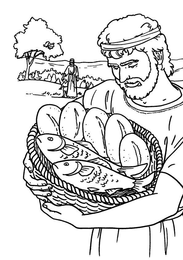 jesus y el milagro de los panes y peces