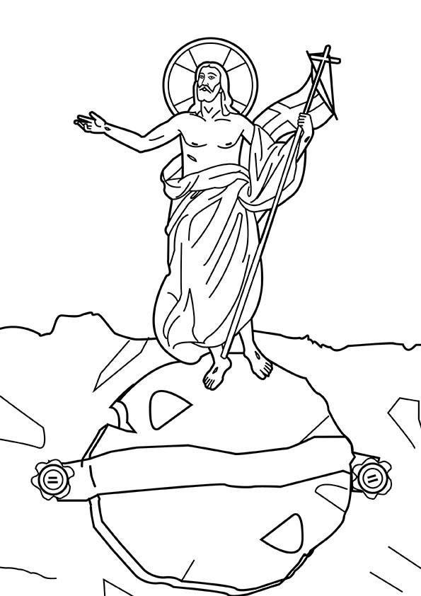 jesus sobre el mundo