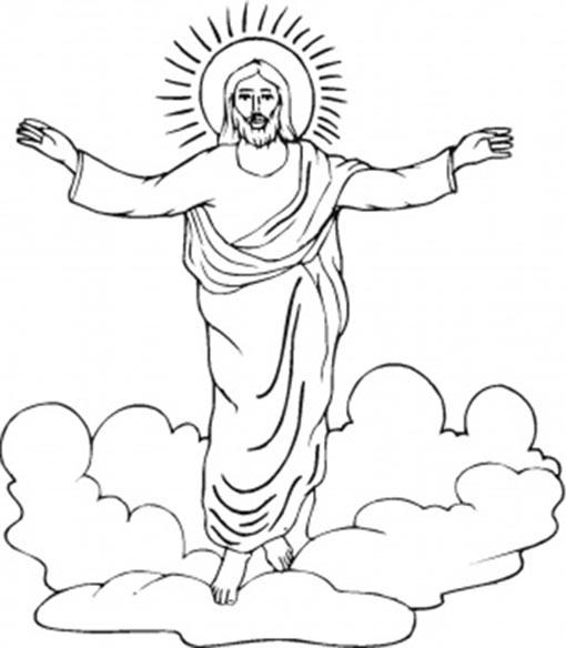 jesus entre nubes