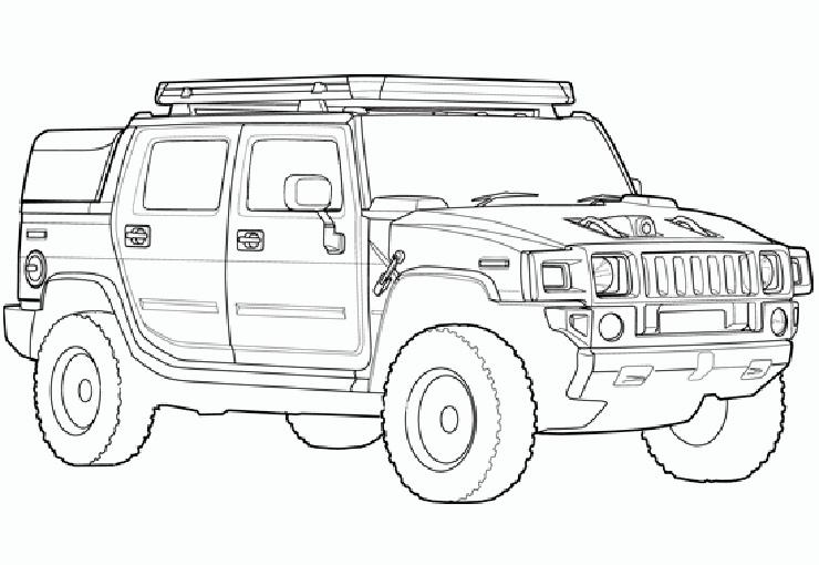 coche hummer 4x4