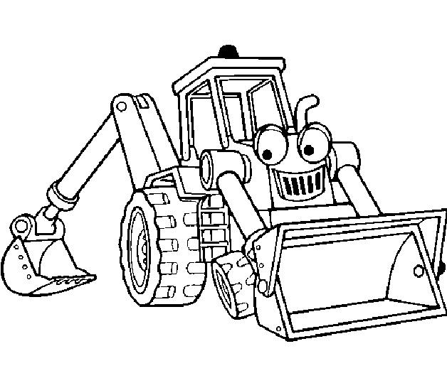 tractor escavadora